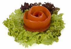 Vegetable 'rose' Stock Photos
