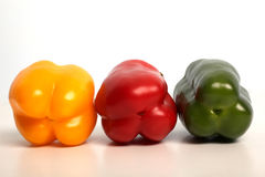 Vegetable in row Royalty Free Stock Photography