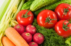 Vegetable's background Royalty Free Stock Photos