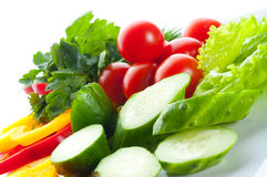Vegetable salad. Royalty Free Stock Photography