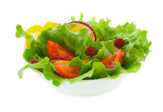 Vegetable salad Royalty Free Stock Images