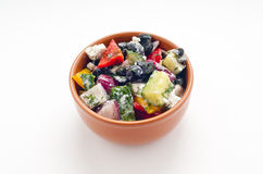Vegetable salad Stock Photos
