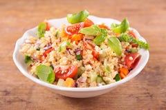 Vegetable salad with bulgur Stock Photography