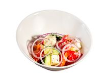 Vegetable salad with cheese Stock Photos