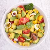 Vegetable salad Royalty Free Stock Photos