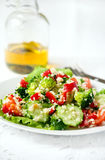 Salad with couscous Royalty Free Stock Images