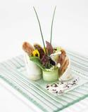 Vegetable salad egg Stock Images