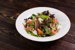 Vegetable salad with grapefruit. Stock Photos