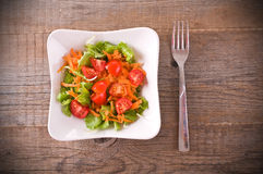 Vegetable salad. Royalty Free Stock Image