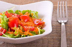 Vegetable salad. Royalty Free Stock Photo