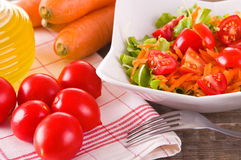 Vegetable salad. royalty free stock image