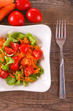 Vegetable salad. Stock Images