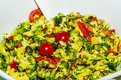 Vegetable salad with kale Stock Photos