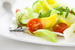Vegetable salad with mango Stock Photos