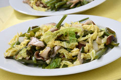 Vegetable salad mix Stock Photos