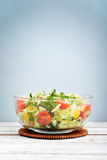 Vegetable Salad with parmesan Royalty Free Stock Image