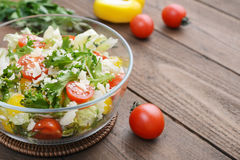 Vegetable Salad with parmesan Stock Photography