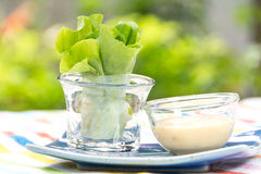 Vegetable Salad Roll Stock Images