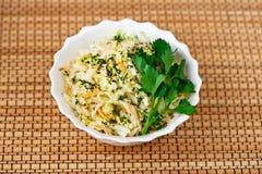 Vegetable Salad Sauerkraut Royalty Free Stock Image