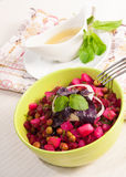 Vegetable Salad .Vinaigrette Royalty Free Stock Photos