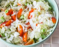 Vegetable salad. Royalty Free Stock Images