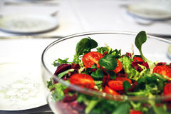 Vegetable salat stock photography