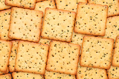 Vegetable salty crackers royalty free stock photos