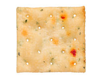 Vegetable salty crackers royalty free stock photography