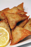 Vegetable Samosas Stock Photos