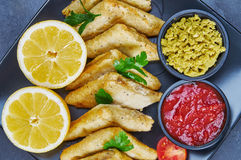 Vegetable samosas with spices Stock Photos