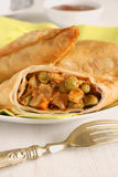 Vegetable Samosas Stock Images