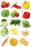 Vegetable sampler Stock Photography
