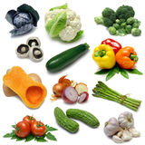 Vegetable Sampler One Royalty Free Stock Photography