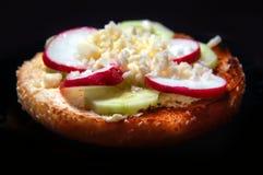Vegetable sandwich Stock Photos