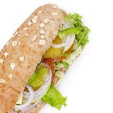 Vegetable Sandwich Royalty Free Stock Image