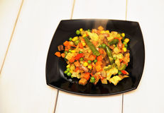 Vegetable saute Royalty Free Stock Photo