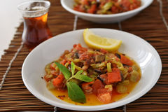 Vegetable saute Stock Images
