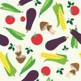 Vegetable seamless royalty free illustration