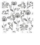 Vegetable, seamless pattern. Royalty Free Stock Photos