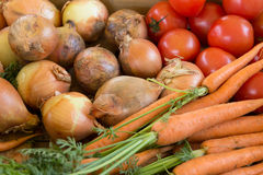 Vegetable Selection Royalty Free Stock Images