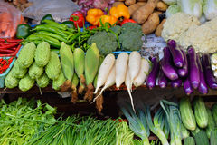 Vegetable selling Stock Image