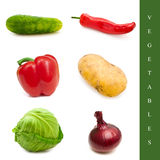 Vegetable set Royalty Free Stock Image