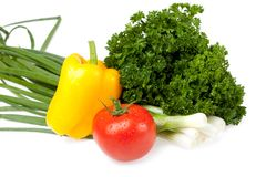 Vegetable set Royalty Free Stock Photo