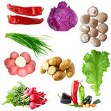 Vegetable Set Royalty Free Stock Photos