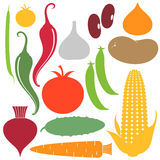 Vegetable. Set Royalty Free Stock Images