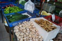 Vegetable shop Stock Photos