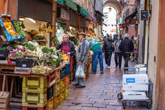 Vegetable shop Royalty Free Stock Photo