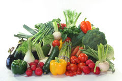 Vegetable shopping Stock Image