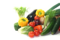 Vegetable shopping Royalty Free Stock Photo