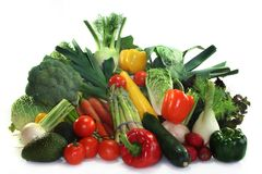 Vegetable shopping Royalty Free Stock Image